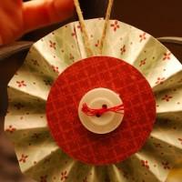 Paper Lollipop Ornament TUTORIAL