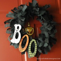 BOOtiful burlap wreath