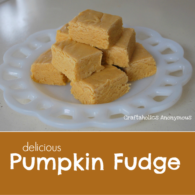 Pumpkin Fudge Recipe. This fudge is rich and seriously addictive ...