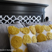 a Headboard Makeover on the cheap!