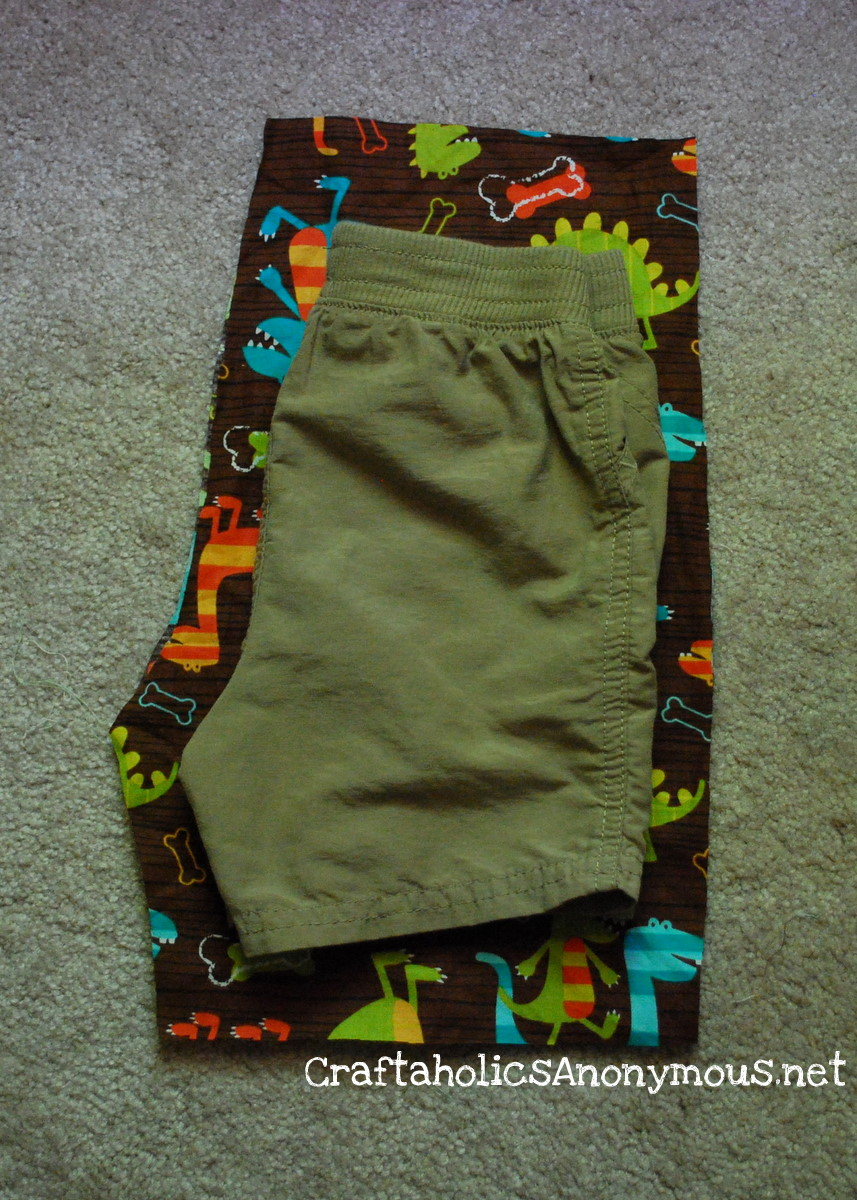 picture about Free Printable Toddler Shorts Pattern named How towards sew shorts with no a practice Craftaholics Nameless