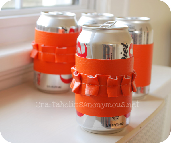 Soda Can Cozy Craft Tutorial