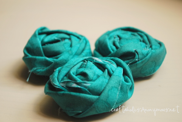 Craftaholics Anonymous® | How to Make a Fabric Rosette