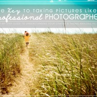The Key to Taking Pictures like a Professional Photographer GIVEAWAY {4 winners!}