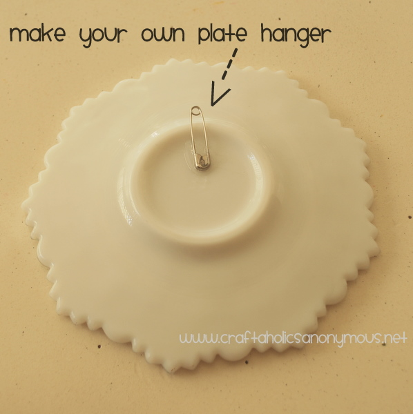 How To Make Your Own Plate Hangers And Holders