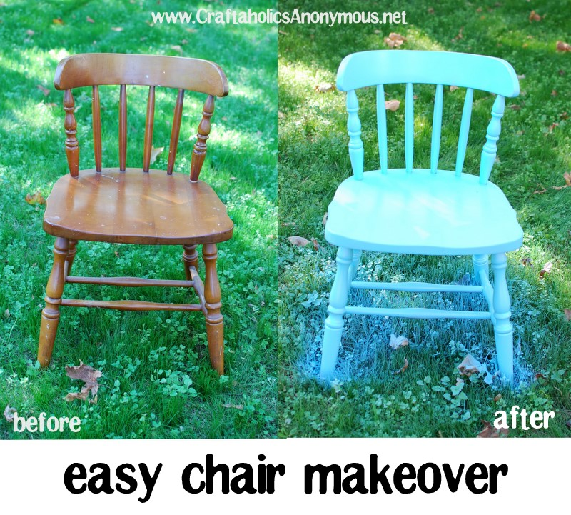 updated dining chair revamp