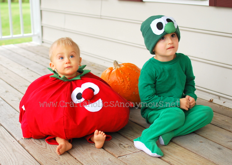 cucumber halloween costume, tomato halloween costume
