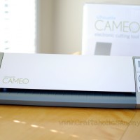introducing the new Silhouette CAMEO! {review, discount, & tutorial}