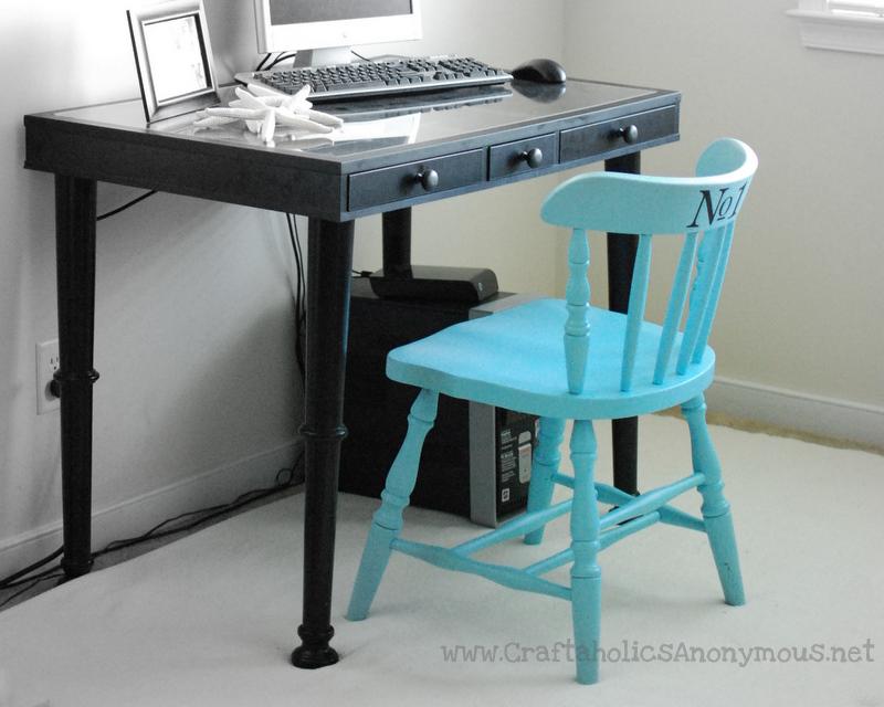 easy desk revamp