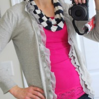Easy Infinity Scarf TUTORIAL