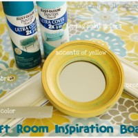 My Craft Room: Part 2 {Inspiration Board}