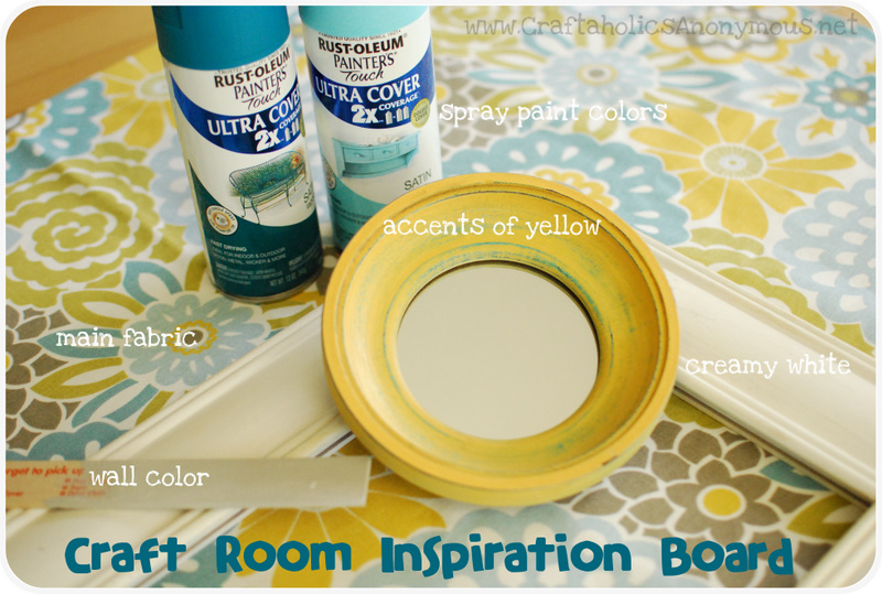 inspiration for decorating a craft room
