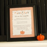 we are like pumpkins {FREE fall printable}