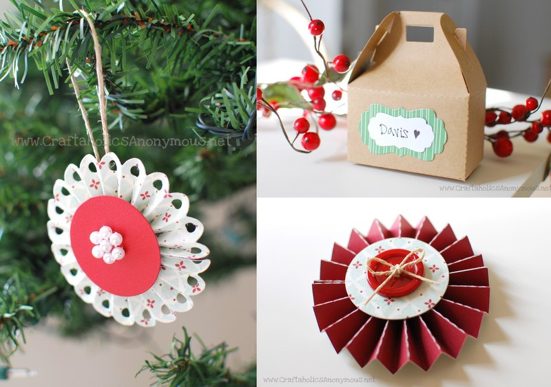 paper lollipop christmas tree ornaments