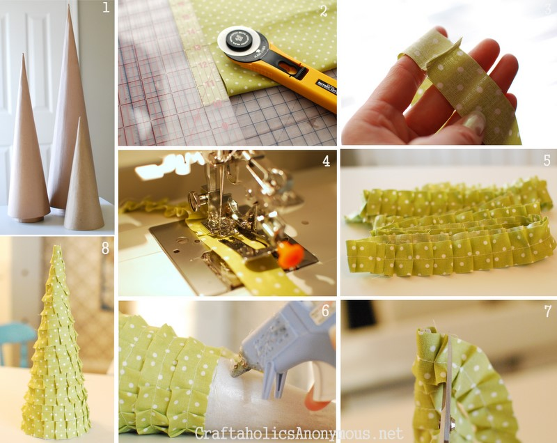 how to make a ruffle tree