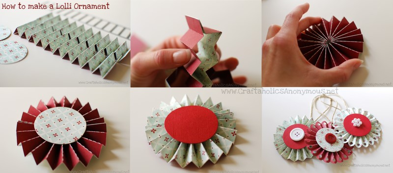 how to make paper lollies