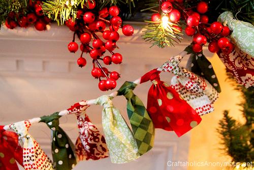 christmas banner swag