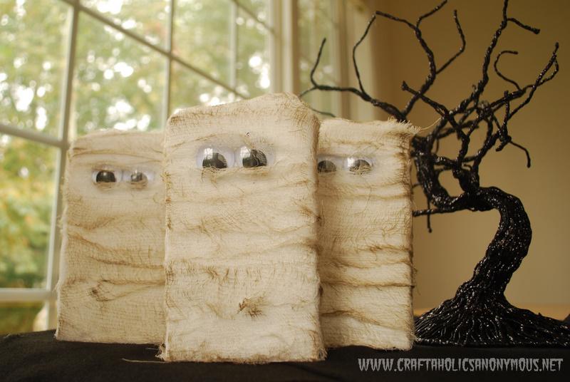 Halloween Mummy Craft Tutorial
