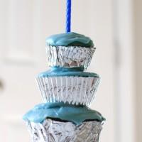 Triple Decker Cupcake Cake