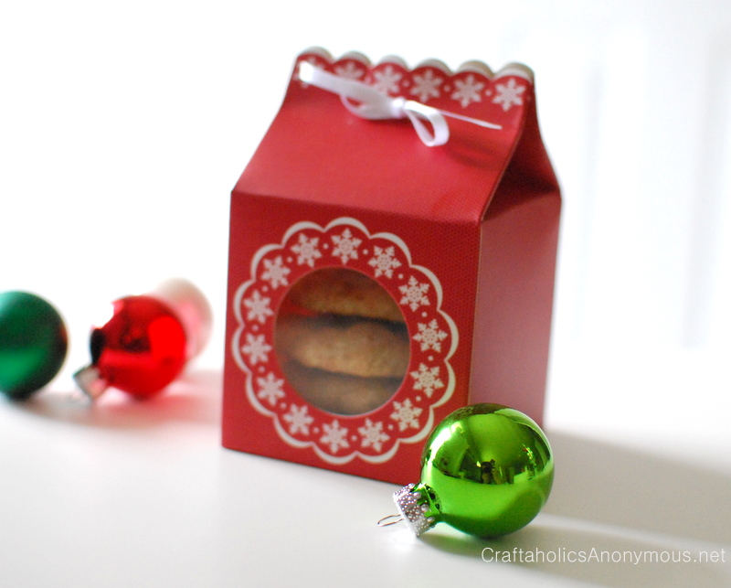 cookie box gift