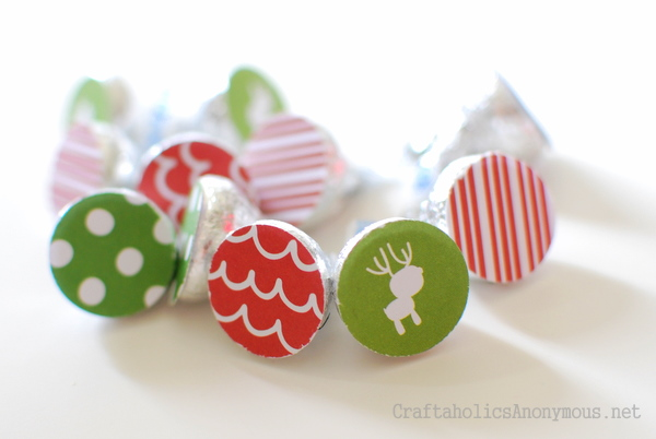 craft with hershey kisses