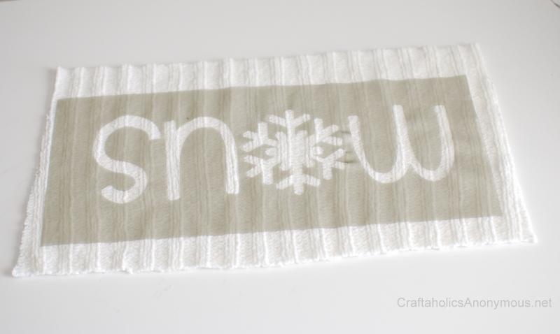 stencil for fabric