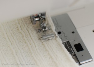 sewing machine roller foot