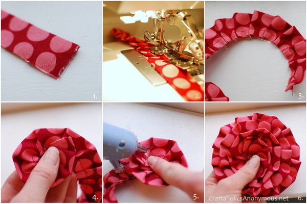 How To Make A Valentine Wreath