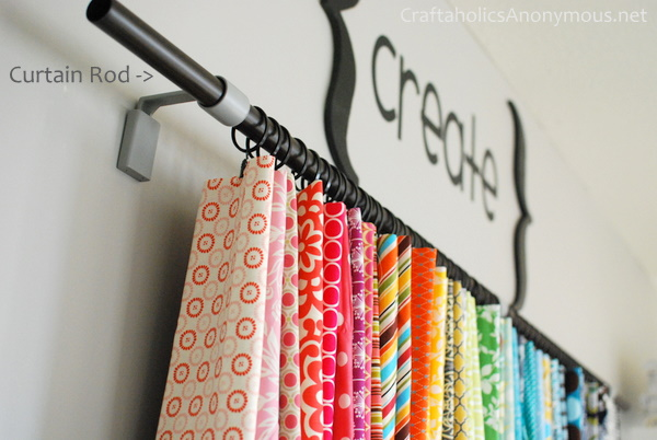ideas for storing fabric