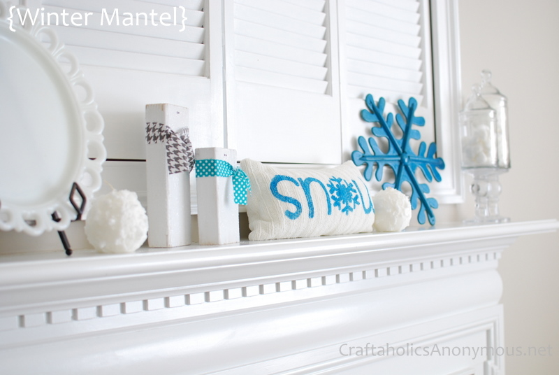 snow decorations