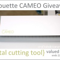 Silhouette CAMEO GIVEAWAY {$300 value} + discount code