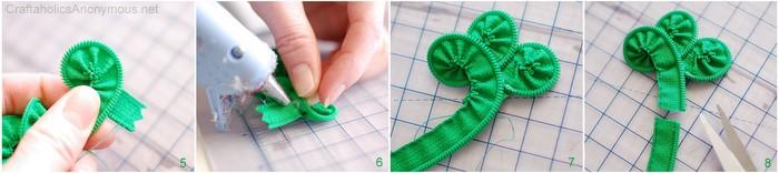 zipper clover