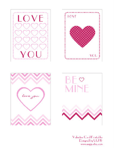 photograph regarding Free Printable Valentine Cards named Totally free Valentines Working day playing cards printable