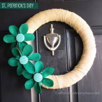St. Patrick's Day Wreath TUTORIAL
