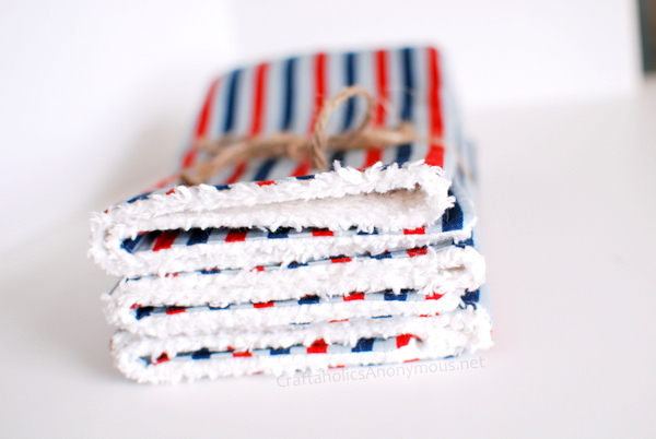 chenille burp cloths