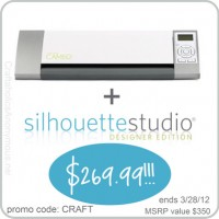 Silhouette CAMEO  Giveaway + Bundle Discount!