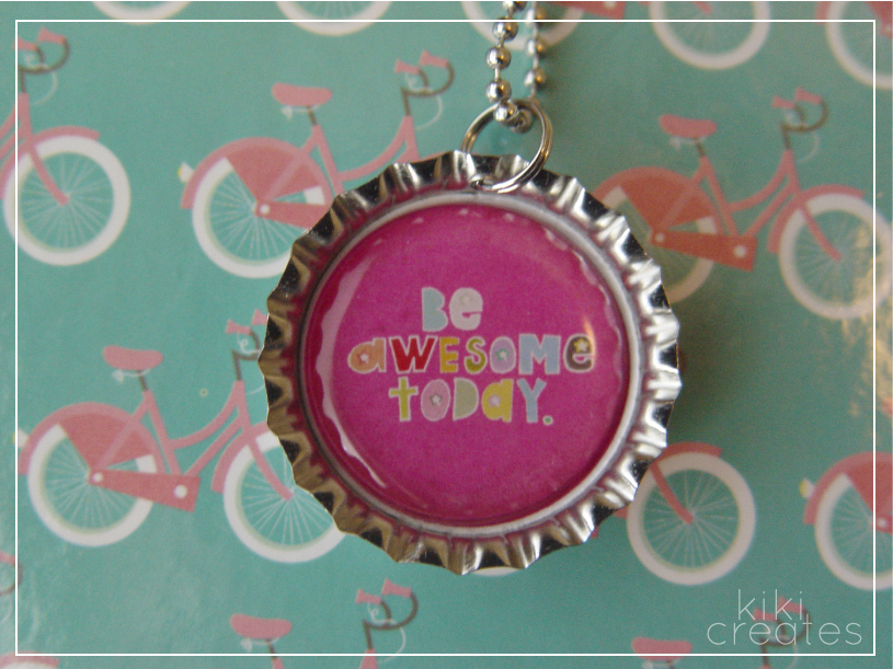 bottlecap necklace