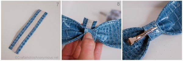 DIY bow cuff