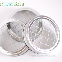 April Craft Kits: Mason Jar Flower Lids!