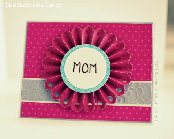Mother 39 s day card idea Good ideas for mothers day card