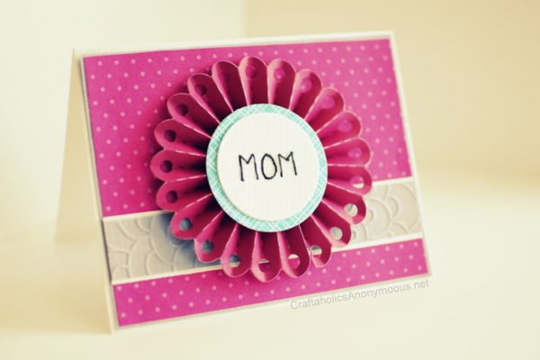 Handmade Mother S Day Card