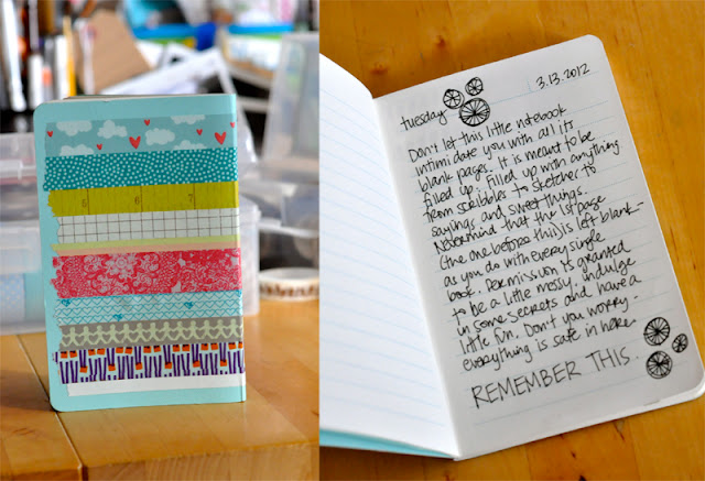 washi tape cover
