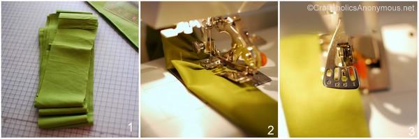 sewing ruffles