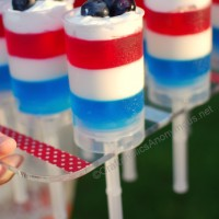Patriotic Push-Up Pops
