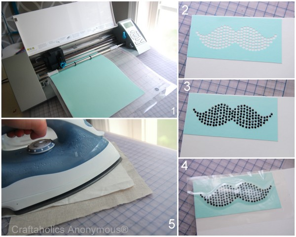 How to use Silhouette Rhinestones