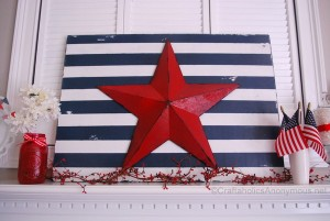 stars and stripes sign