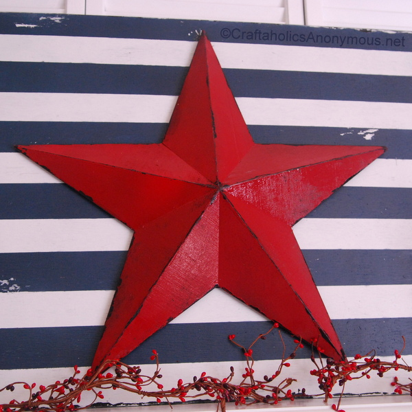 star and stripe sign