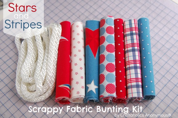 fabric bunting craft kit