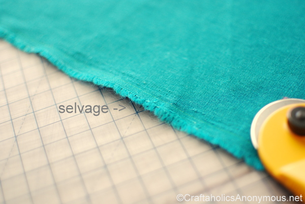 what is selvage