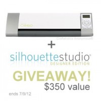 CAMEO Giveaway + Silhouette Studio Designer Software promo